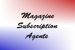Magazine Subscription Agents