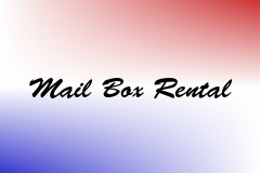 Mail Box Rental