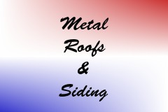 Metal Roofs & Siding