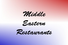 Middle Eastern Restaurants