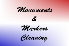 Monuments & Markers Cleaning