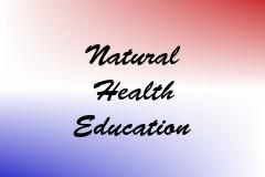 Natural Health Education