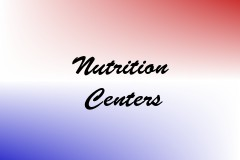 Nutrition Centers