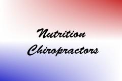 Nutrition Chiropractors