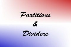 Partitions & Dividers