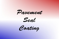 Pavement Seal Coating