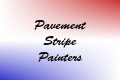 Pavement Stripe Painters