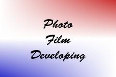 Photo Film Developing