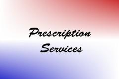 Prescription Services