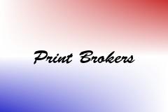 Print Brokers