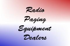 Radio Paging Equipment Dealers