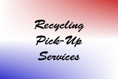 Recycling Pick-Up Services