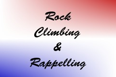 Rock Climbing & Rappelling