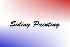 Siding Painting