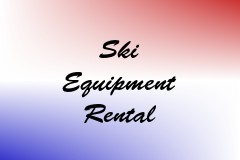 Ski Equipment Rental