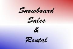 Snowboard Sales & Rental