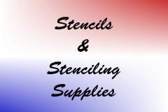 Stencils & Stenciling Supplies