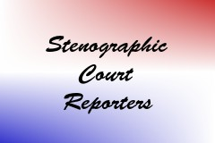 Stenographic Court Reporters