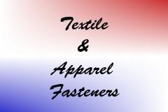 Textile & Apparel Fasteners