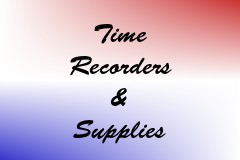 Time Recorders & Supplies