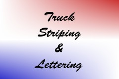 Truck Striping & Lettering