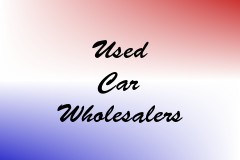 Used Car Wholesalers