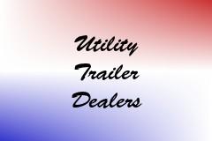 Utility Trailer Dealers