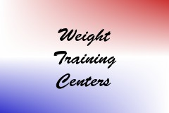 Weight Training Centers