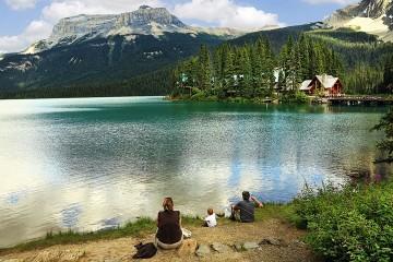 a family lake resort