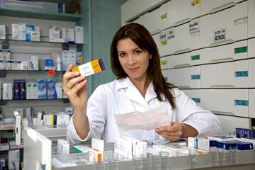 a prescription pharmacist